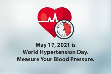 World Hypertension Day is May 17, 2021