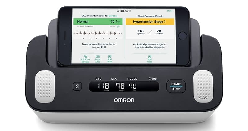 BP Monitor and EKG (Omron BP7900)